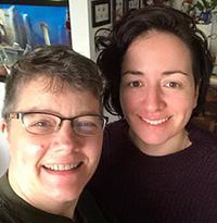 Jackie Warbis and Leanne McRoberts